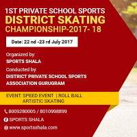 1st private school sports district skating championship 2017-18's profile