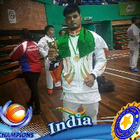 Tarun  Sharma Karate Player