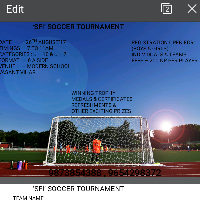 SFI tournament's cover