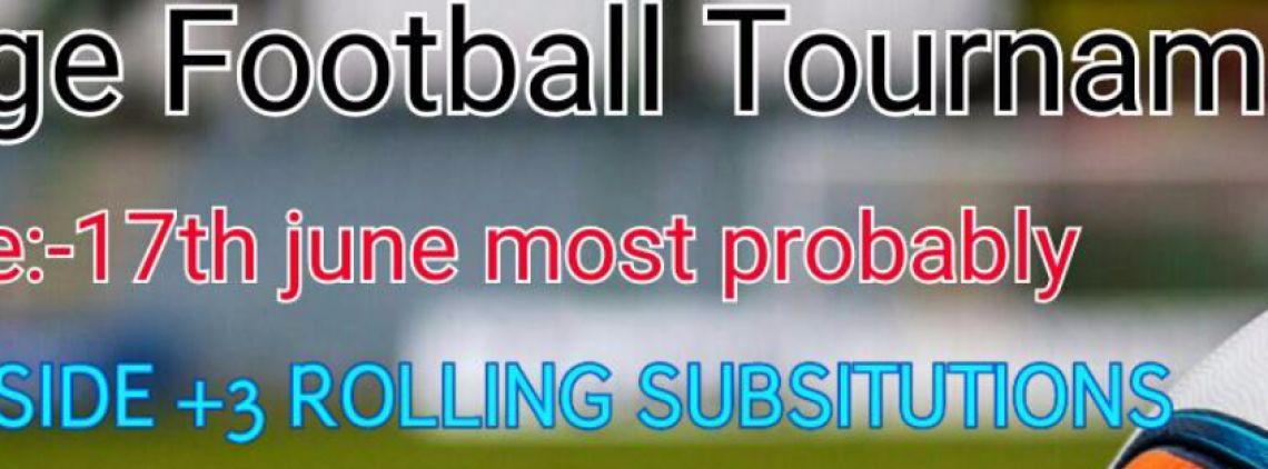 CAGE FOOTBALL TOURNAMENT's profile