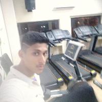 Vishal Rojday Vishu Volleyball Player