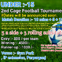 Cage Football Tournament 's profile