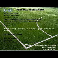 u-16 football tournament 's cover