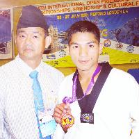 Manoj Lama Taekwondo Coach