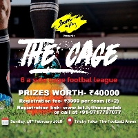 The Cage- 6 a side football tournament's cover