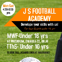 J S FOOTBALL ACADEMY 's profile