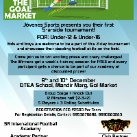 The Goal Market 5a side Football Tournament's profile