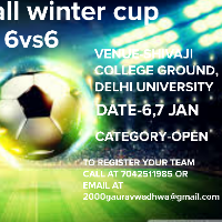 Football winter cup's profile