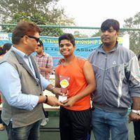 Anmol Chaudhary Tennis Player