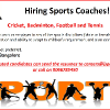 Sports Coach's profile