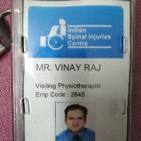 Vinay  Raj Table Tennis Physio