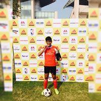 Anand Negi Jr. Football Player