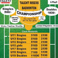 Talent Risers Badminton Championship's profile