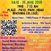 Patel Nagar Kabaddi League's cover