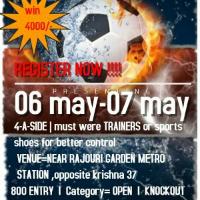 Rajouri futsal league 4 v 4's cover