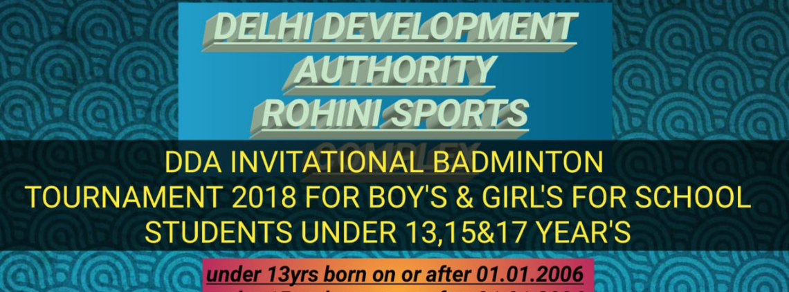 DDA SPORTS COMPLEX BADMINTON TOURNAMENT's profile