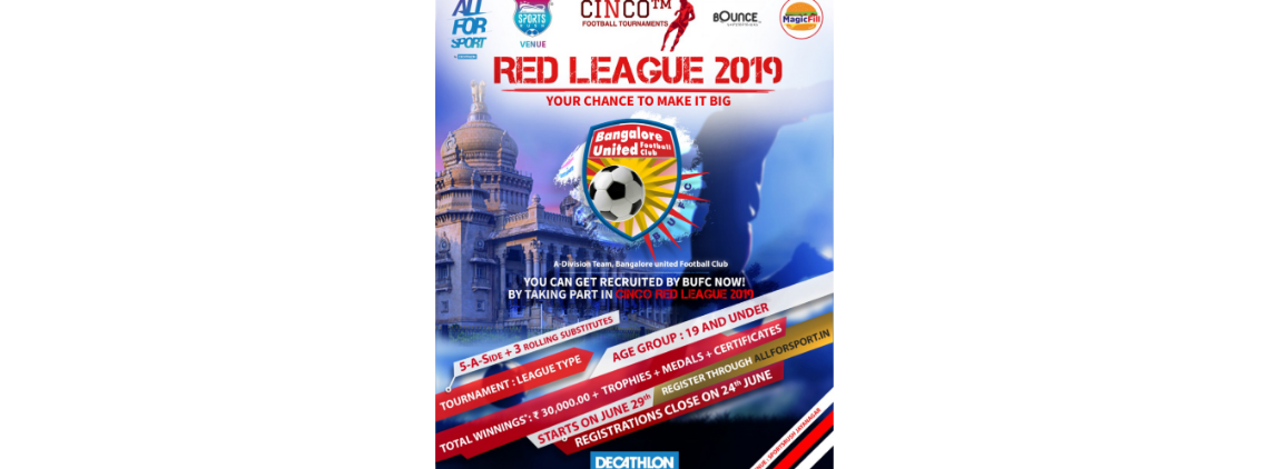 CINCO™ RED League 2019's profile
